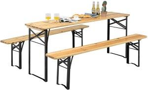 outdoor picnic table giantex portable