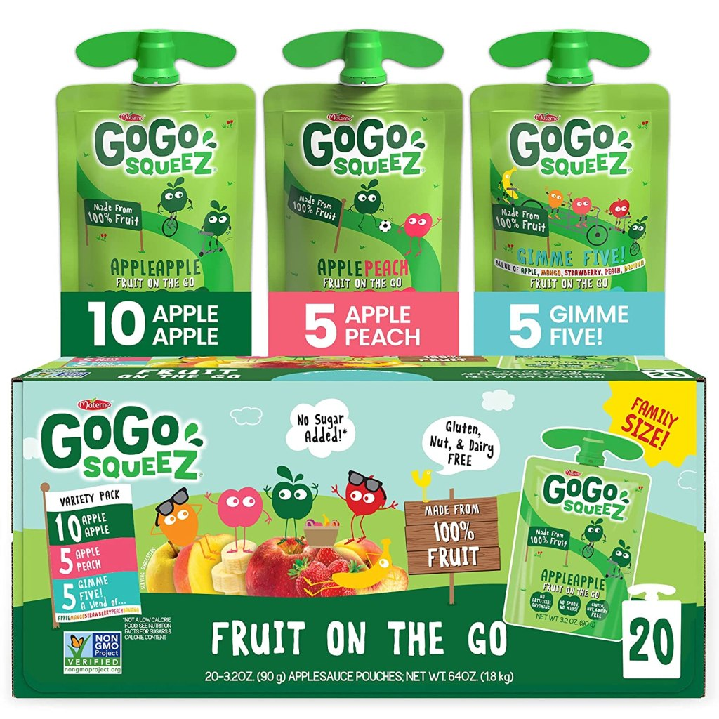 GoGo squeeZ Fruit on the Go Variety Pack