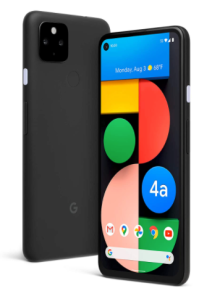Google Pixel 4a with 5G dual sim phone