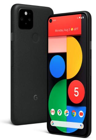 Google Pixel 5 5g phone