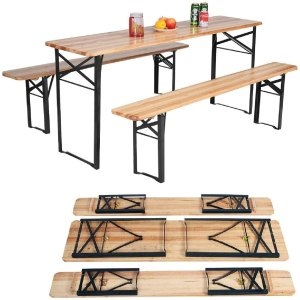 best portable picnic table happygrill