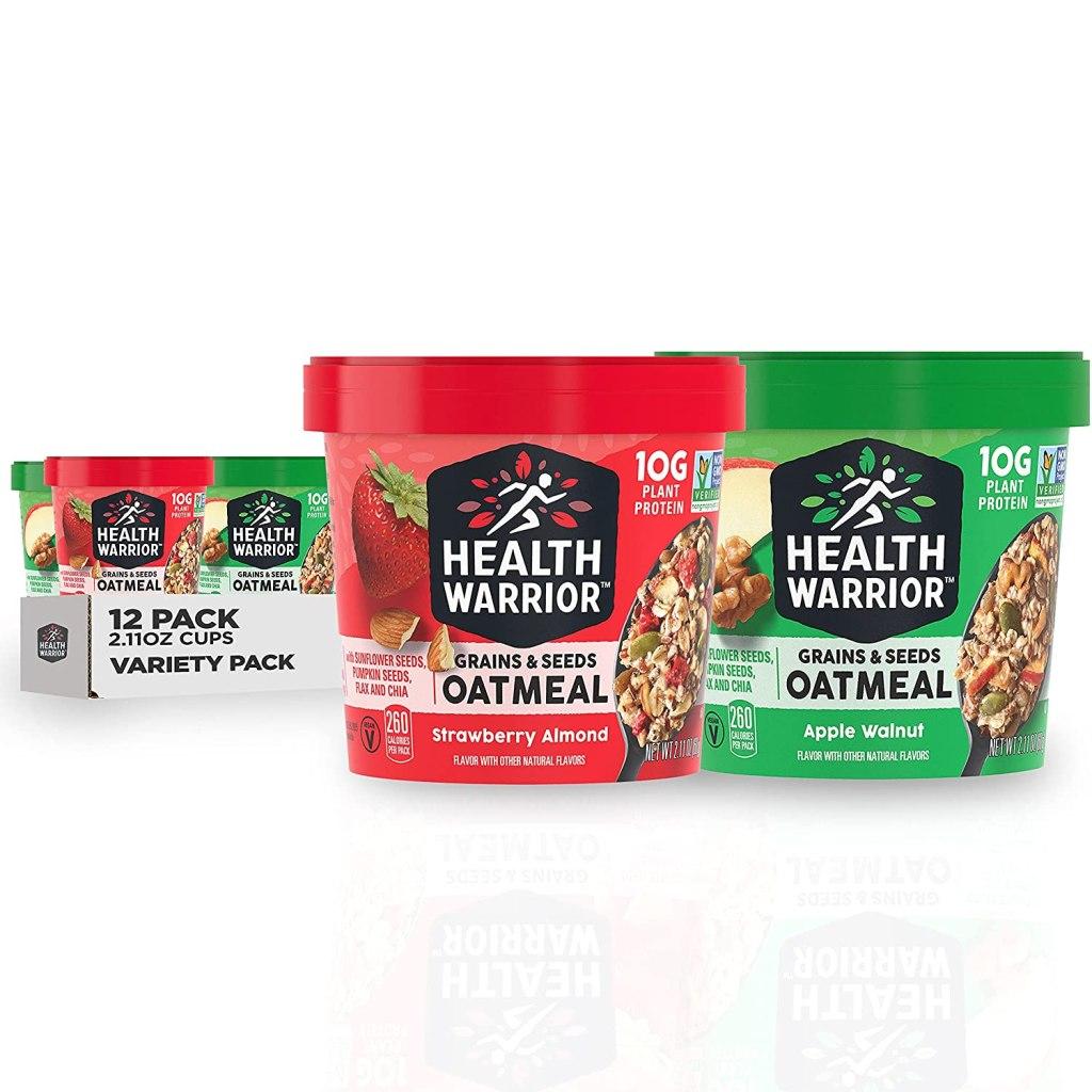 Health Warrior Grains & Seeds Oatmeal Cups