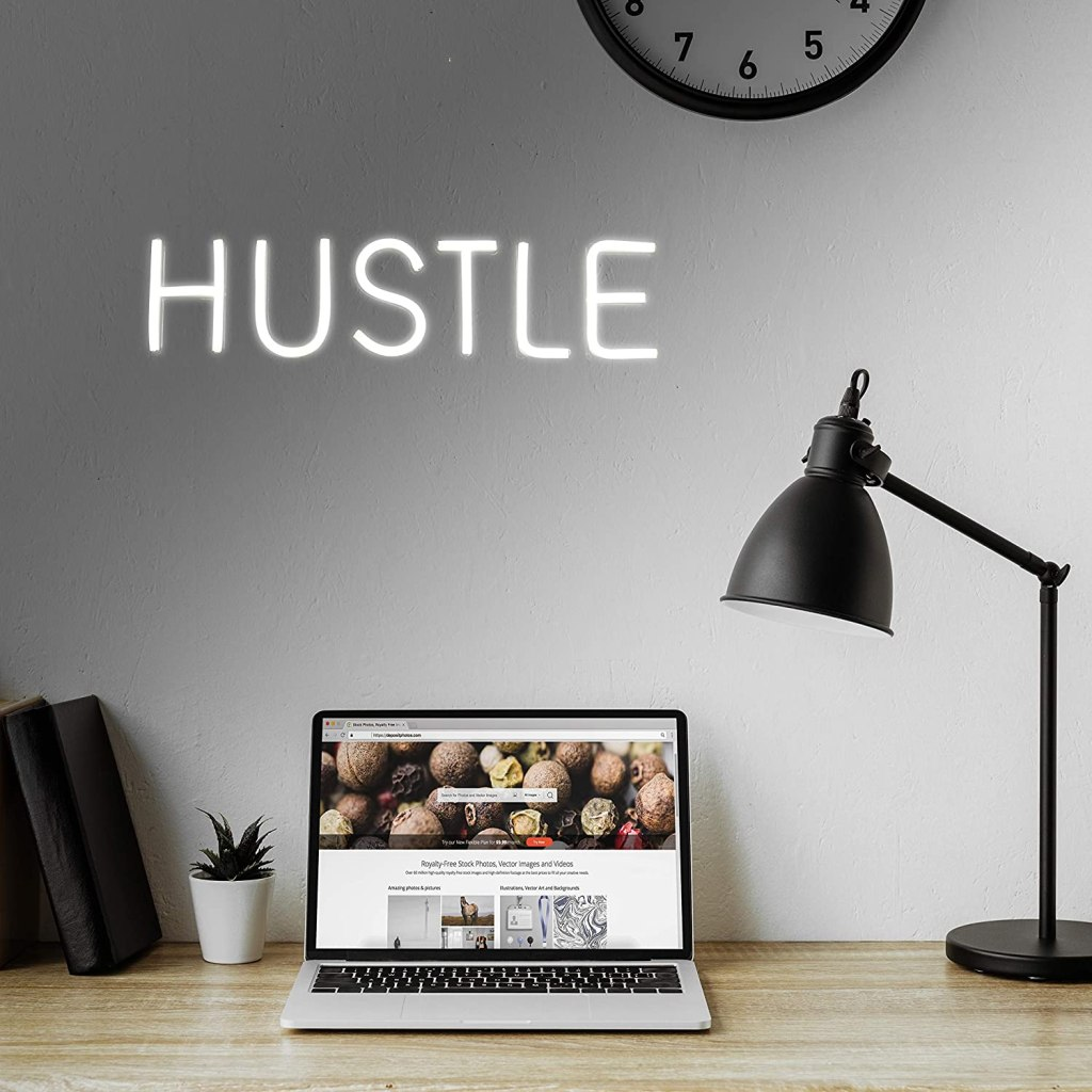IMEGINA Hustle Neon Sign
