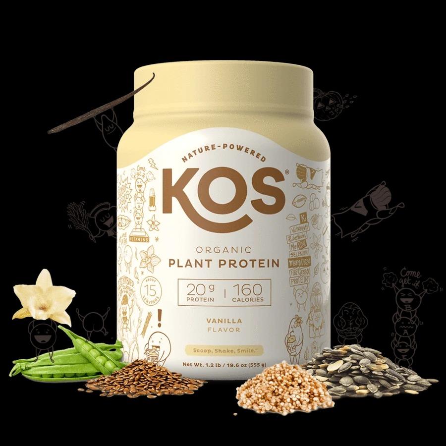 Kos Organic Plant Protein, Preworkout supplement