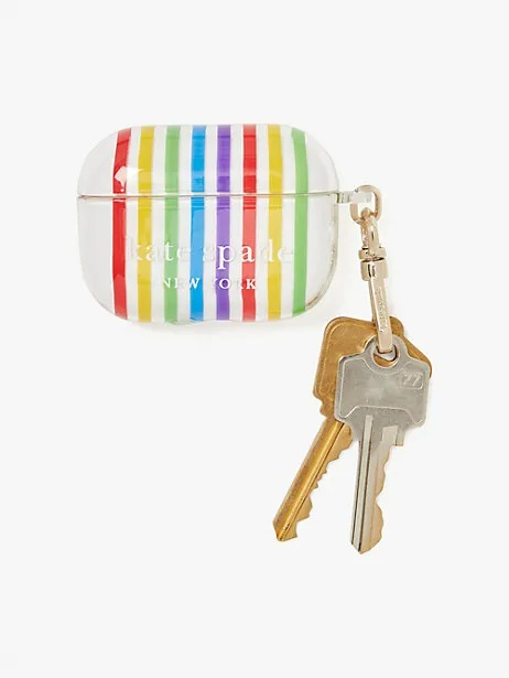 Kate Spade Rainbow Airpods Pro Case