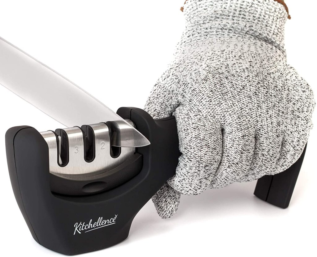 Kitchellence 3-in-1 Kitchen Knife Accessory