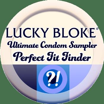 lucky bloke ultimate condom sampler pack