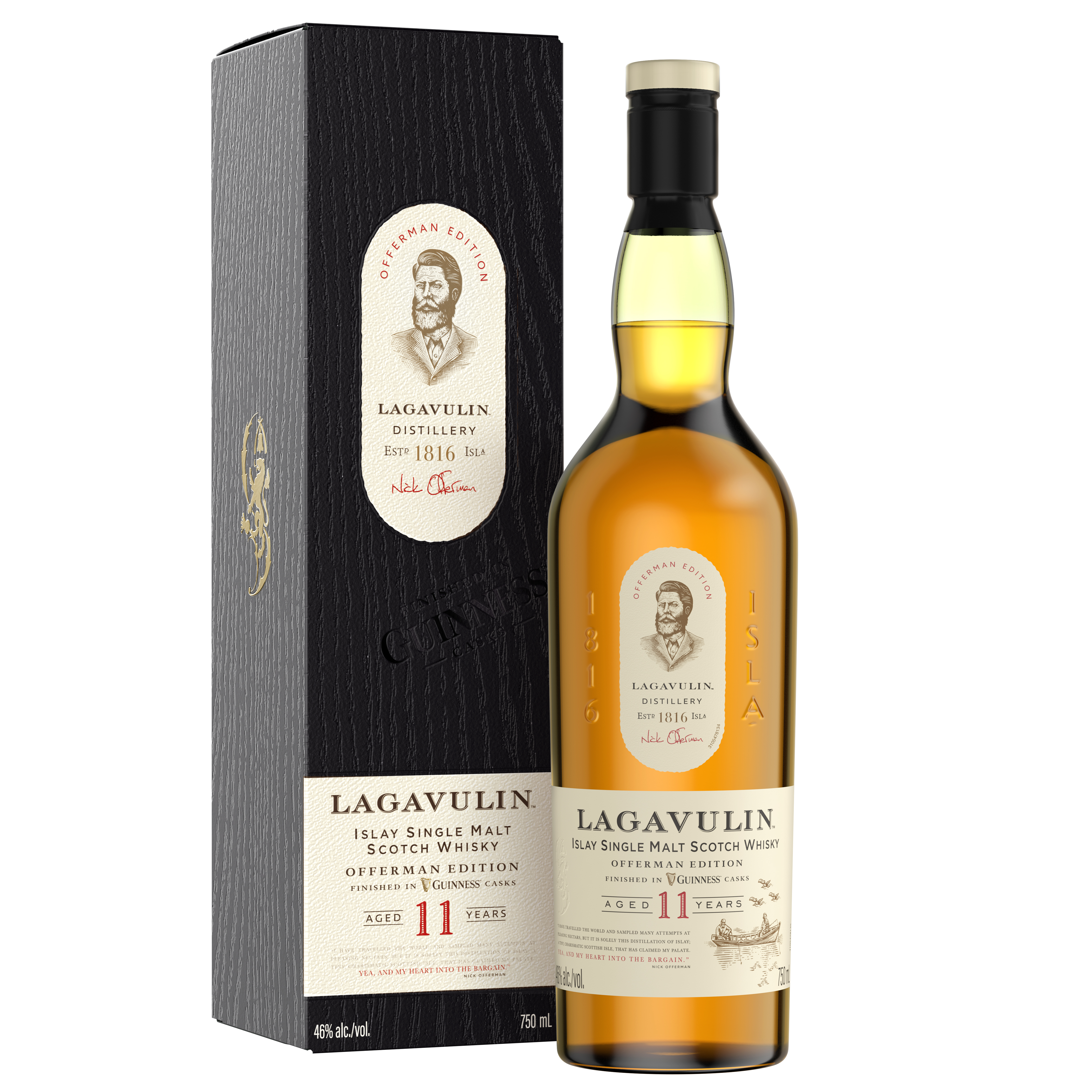 Lagavulin Offerman Edition: Guinness Cask Finish review