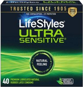 thinnest condoms lifestyles ultra sensitive