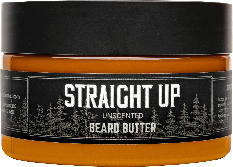 Live Beard Straight Up Unscented Beard Butter