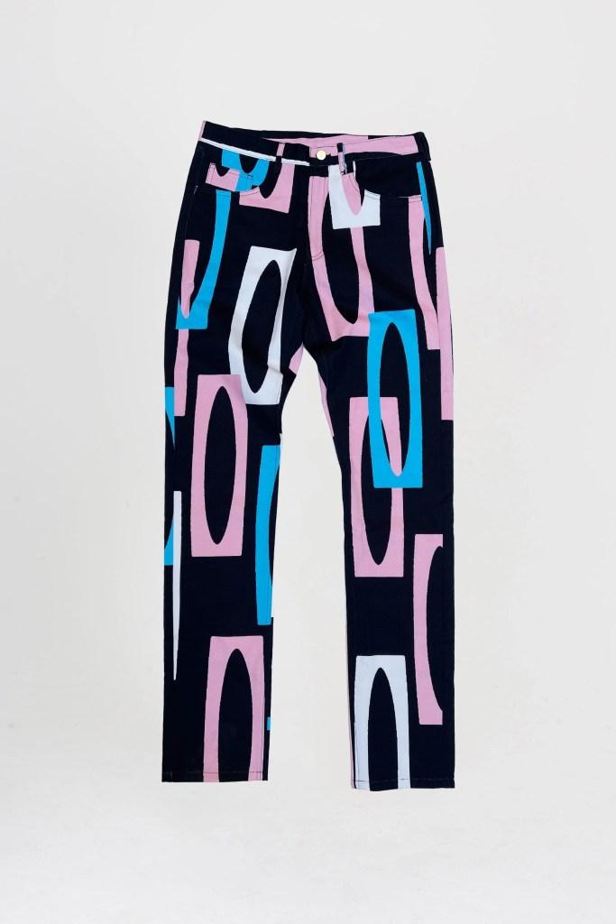 Lola Faturoti Loves Men's Jeans in Trans Black
