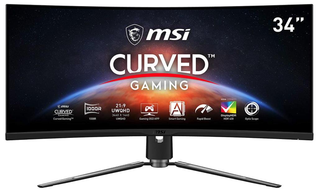 MSI MPG Artymis curved monitor