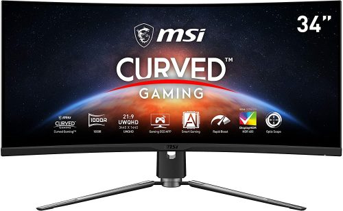 MSI MPG Artymis 343CQR Curved Gaming Monitor