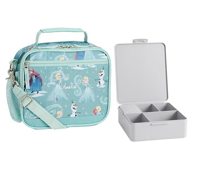 Mackenzie Aqua Disney Frozen Cold Pack Lunch Bento Set