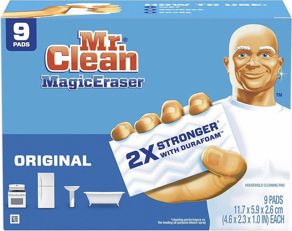 Mr Clean Magic Eraser Original, Cleaning Pads with Durafoam