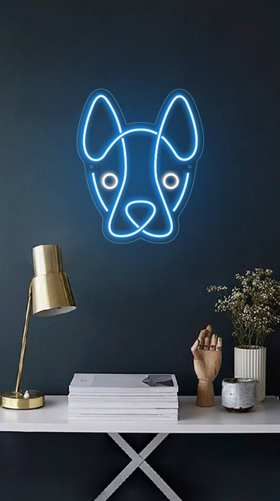 NeonBoutiqueCustom Dog Face