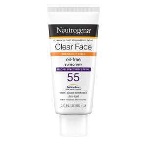 neutrogena clear face sunscreen, mens skincare routines