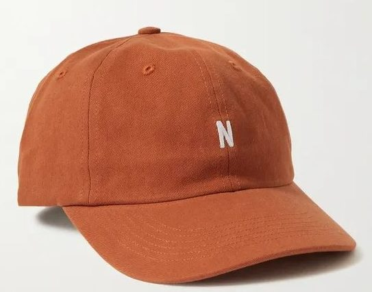 Norse Projects Logo-Embroidered Cotton Twill Baseball Cap