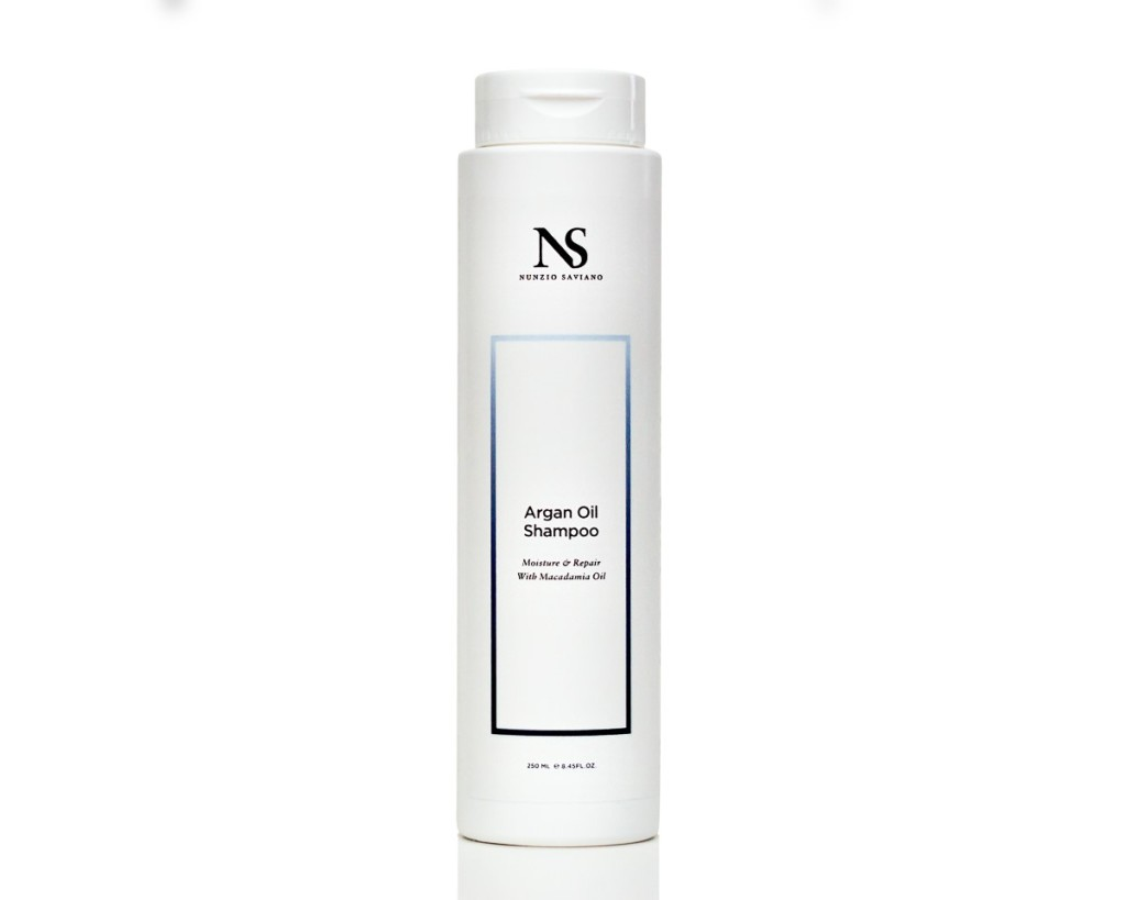 Nunzio Saviano Argan Oil Shampoo, best moisturizing shampoos for dry scalp