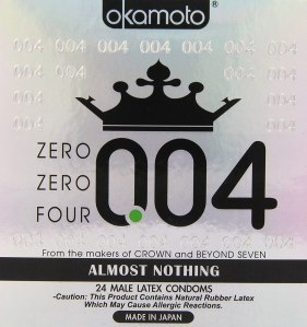 thinnest condoms okamoto
