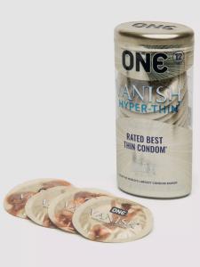 thinnest condoms one vanish hyper thin