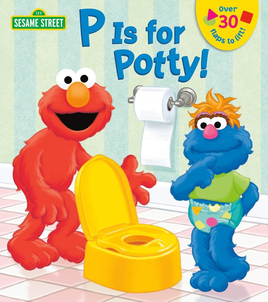 P is for Potty! by Naomi Kleinberg, best book for toddlers