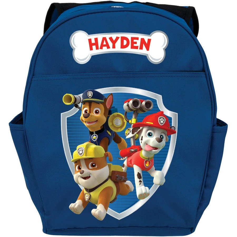 PAW Patrol Kids Blue Youth Backpack