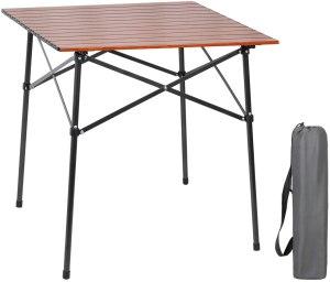 portal lightweight aluminum square table