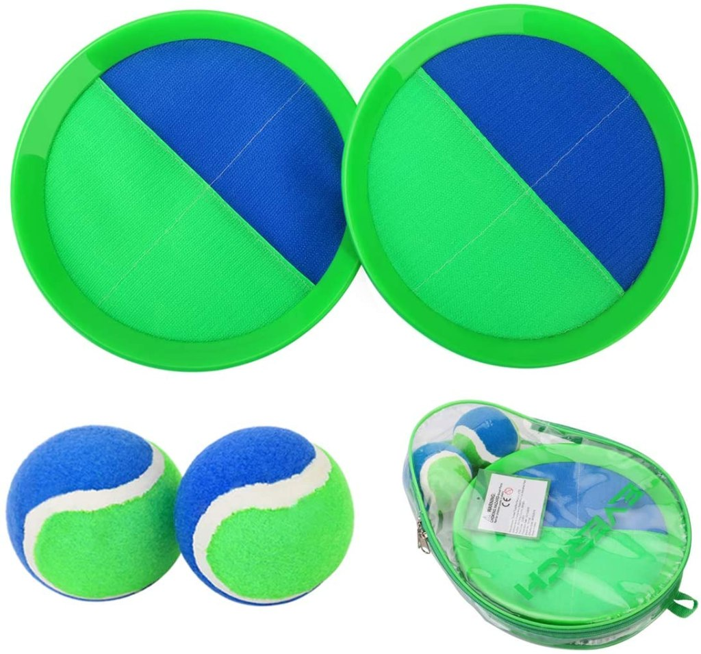 Everich Toy Paddle Toss and Catch Ball Set