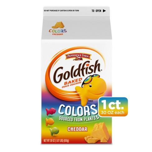 Pepperidge Farm Goldfish Colors Cheddar Crackers