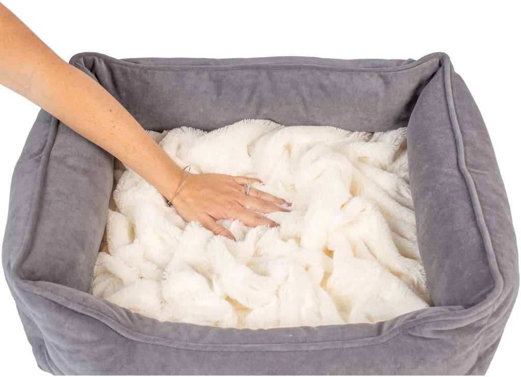 PetFusion Calming Cuddler Dog Bed