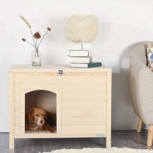 petsfit indoor wooden pet house