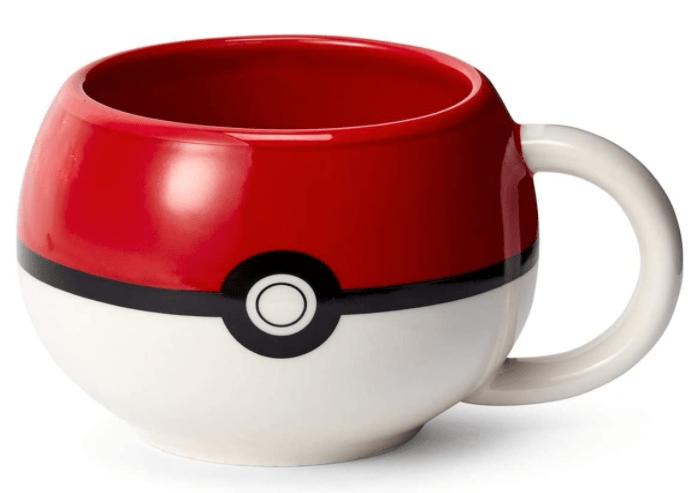 Pokeball Molded Mug