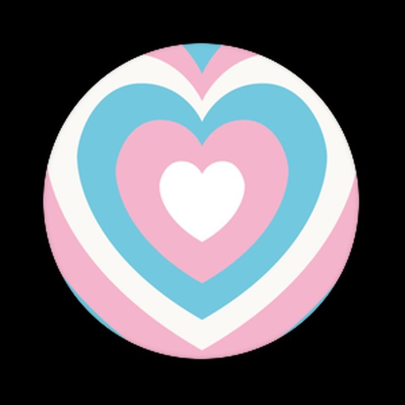 PopSockets Poptivism Trans Heart Popsocket