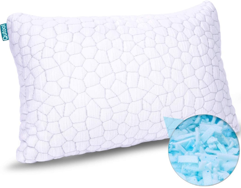 Qutool-2-Pack-Cooling-Bamboo-Pillows-Queen-Size