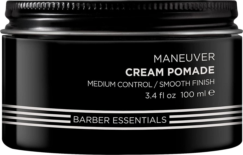 Redken Brews Cream Pomade for Men, medium hold, natural finish