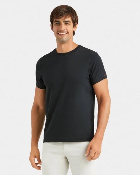 Man wears Rhone Element Tee in black