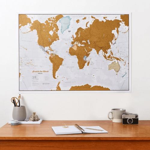 maps international scratch off map