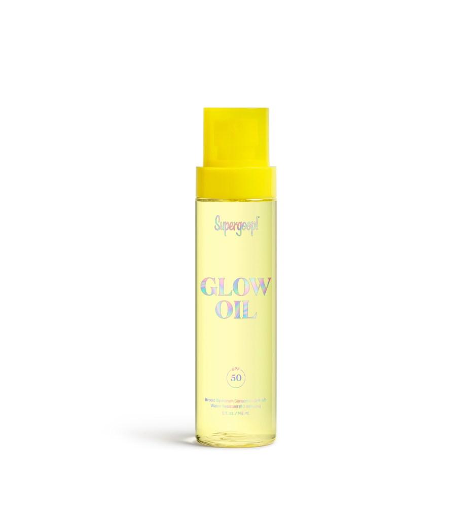 Supergoop! Glow Oil SPF 50, Best Face Oils