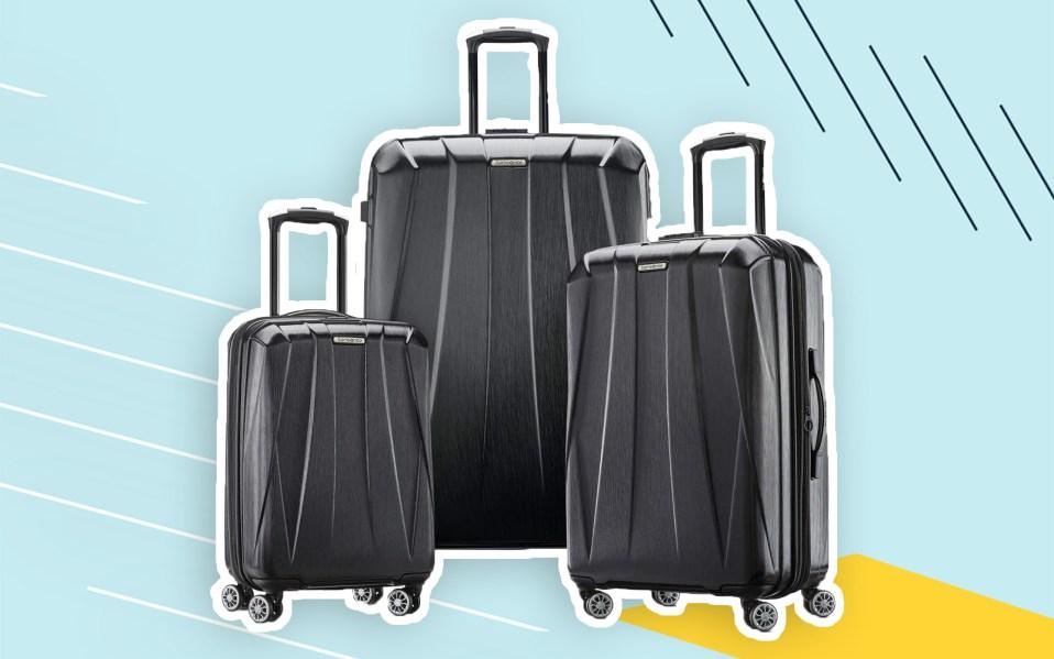 samsonite luggage deal, best Amazon prime