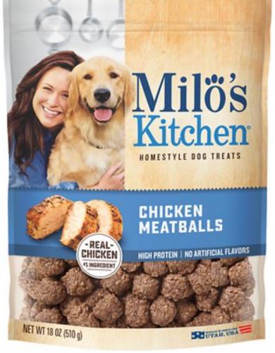 Milo's Kitchen Chicken Meatballs