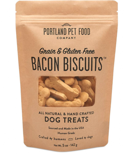 Portland Pet Food Company Bacon Biscuits