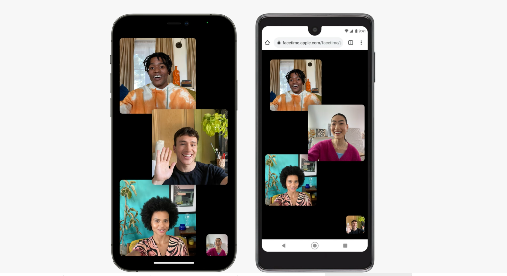 Facetime Android iOS 15 Apple WWDC