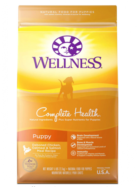 Wellness Complete Health Dry Puppy Food, best puppy food