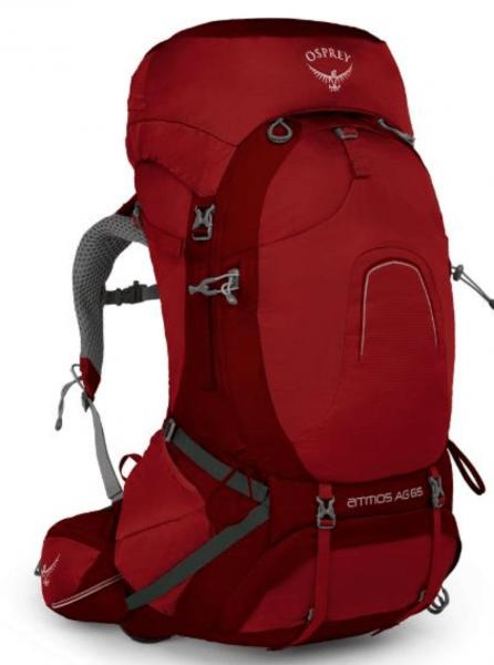 Osprey Atmos AG 65 Pack, best hiking backpack