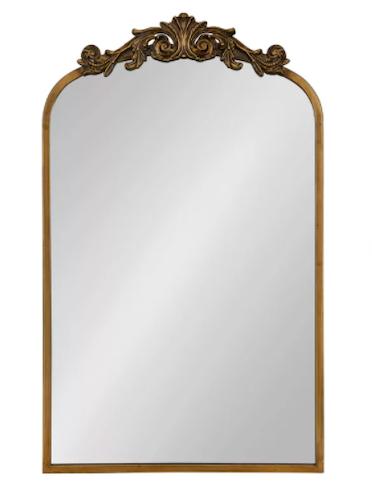 Fleur de Lis Living Anglo Arendahl Traditional Accent Mirror