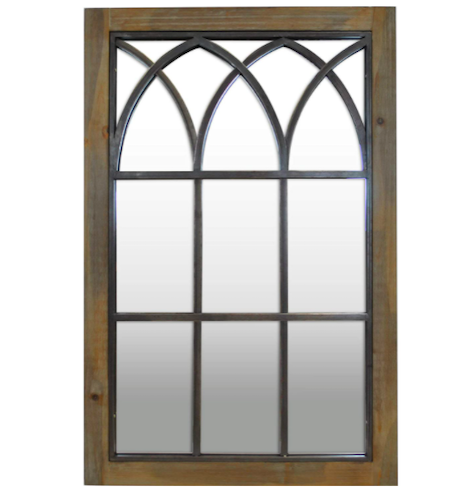 FirsTime & Co. Grandview Arched Window Mirror