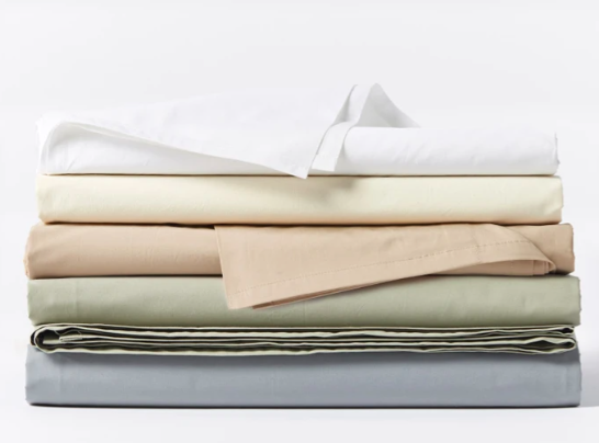 300 Thread Count Organic Percale Sheets