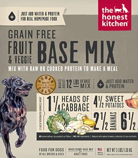The Honest Kitchen Dehydrated Grain & Veggie Mix