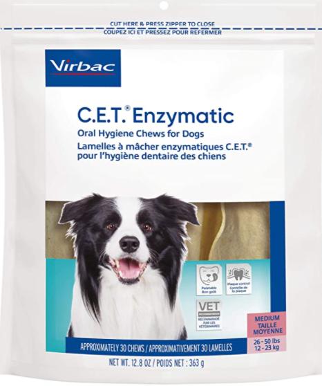 Vibrac CET Enzyme Oral Hygiene Chews
